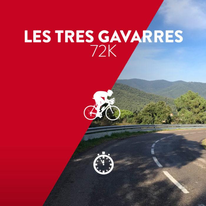 Ruta Les Tres Gavarres 72K